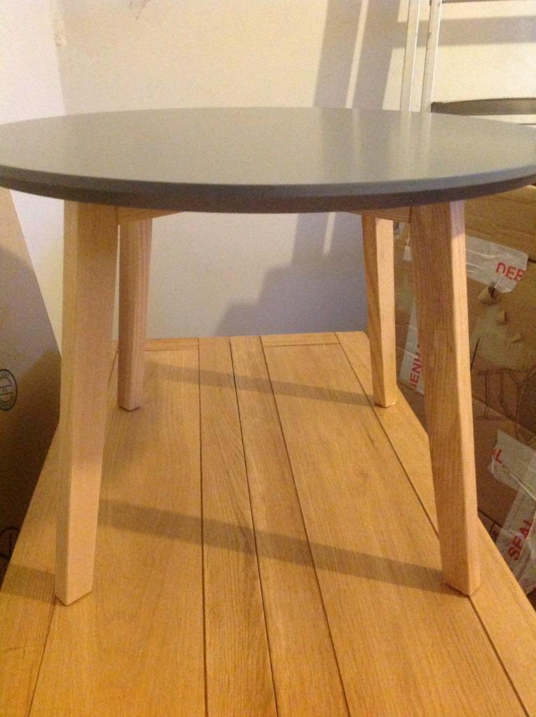 Brand new. Side table