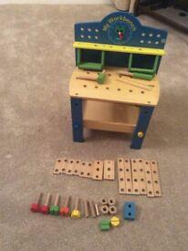 Child's work bench