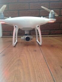 Phantom 4 Drone immaculate As new Perfect free flying