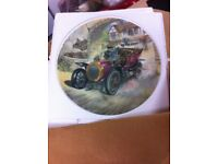 Wind in the willows Wedgewood plate set ,12 plates all pristine condition original packaging