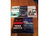 Lucky dip of 5 thriller/crime books