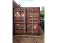 20ft x 8ft Shipping Container (Used). £1375.00, Collection Only