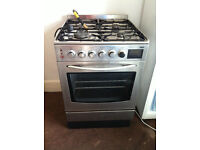 Free cooker for scrap metal believe its a Zanussi gas hob and electric cooker.