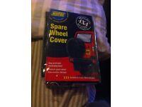 Spare wheel cover 4x4
