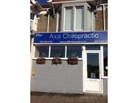 Part time receptionist required for busy Cardiff chiropractic clinic.