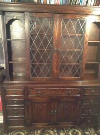 Dark Wood Dresser and Table & Chairs
