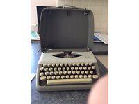 Vintage 1950s Adler Tippa 1 typewriter, perfect condition