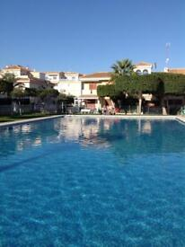 3 bedroom penthouse apartment in Costa Blanca Spain
