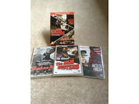 "War Films Boxed Set DVDs "" Heroes of the Skies"" plus"