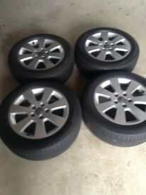 Audi A3 Alloys with Tyres