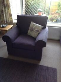 2 Multiyork Armchairs - large, comfortable, excellent condition