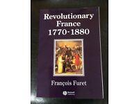 Revolutionary France 1770-1880 Francois Furet