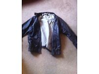 for sale mens leather jacket xl in as new condition 100% cow hide cost £360 new