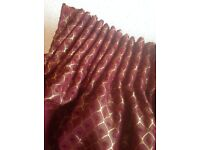 Beautiful pair of lounge or dining room curtains