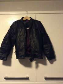 Little boys leather jacket from Next age 4 - never worn