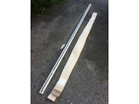Vertical Blind & Track for Conservatory/Patio Doors, 257cm Wide