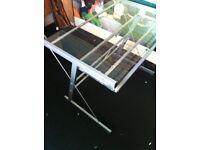 glass desk PC Table