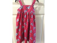 Girl's summer dress, as new, age 3-4 yrs, Bluezoo
