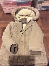 2-3 years coat
