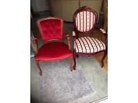 French style dining/boudoir chairs