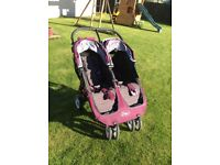 Double Buggy For Sale. Baby Jogger City Mini