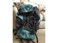 85l backpack perfect for travel, music festivals, camping