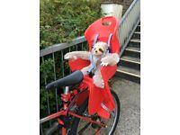 Child bike seat - Raleigh Avenir Snug.