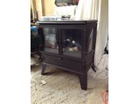 Dimples Electric Log Fire