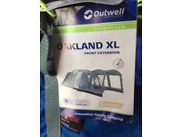 5 birth Oakland XL tent with front extension