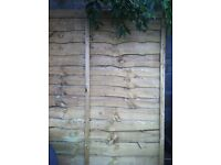 Wooden garden fence panels for sale