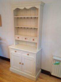 Painted wood dresser