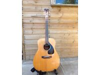 Yamaha FG140 acoustic 6 string guitar fitted with Rare earth active pick-up