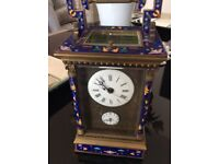 Cloisonné antique carriage clock £900