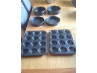 Lakeland baking tins new and unused !