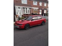 Subaru Impreza WRX import spare and or repairs with extras