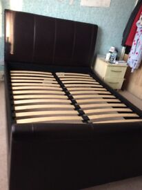Immaculate double bed frame from silent night