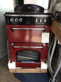Leisure gourmet double oven. Electric. Red £349 RRP £549 new/graded 12 month Gtee