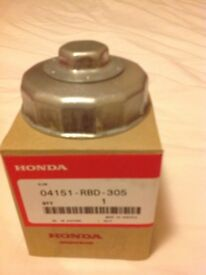 Honda CRV - oiled filter removal tool and sump washers