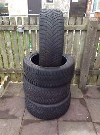 Dunlop winter tyres