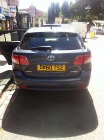 Toyota Avensis 2010 Plate HPI Clear