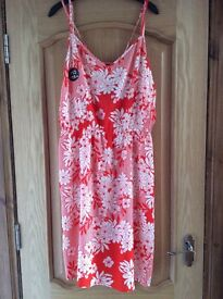 BNWT F&F Red & White Dress