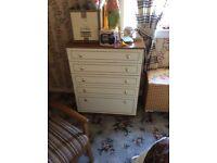 Solid old bedroom furniture
