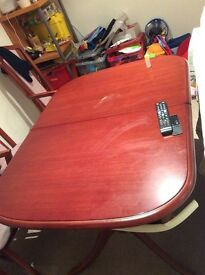 Dinning table and chair .need go ASAP.free car seat