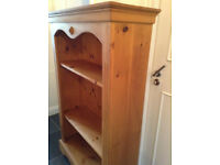*Bargain* 2 x Beautiful Antique Pine Bookcase(s)- Solid Book Case/Shelf Unit -Good cond - *Delivery*