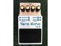 Boss TE-2 Tera Echo Pedal For Sale