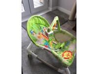 Fisher Pricer Newborn to Toddler Portable Rocker