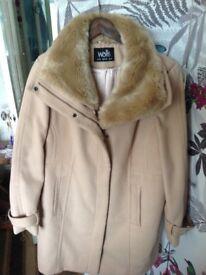 Wallis Ladies camel coat