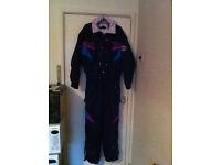 Vintage / Retro NEVICA Ski suit mens / Ladies Size 42
