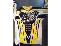 Kids motocross clothing and body armour