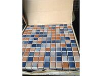 5 boxes of tiles